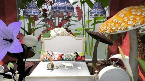 alice in wonderland - Classic - Bedroom  - by livia87