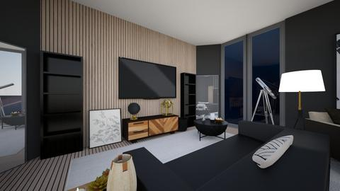 Modern House Living room - Modern - Living room  - by Callmekai22