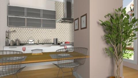 inspiration Tv - Modern - Kitchen  - by Maria_Julia