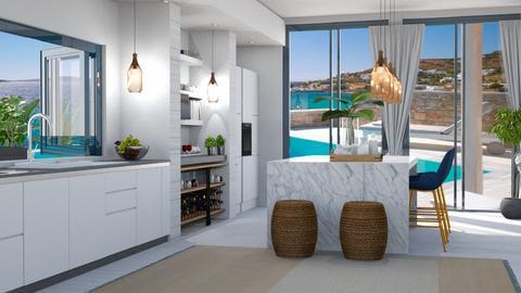 cozinha grega - Kitchen  - by soralobo