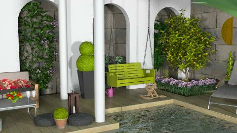 Oooh, oh for this terrace! - Classic - Garden  - by newyorkstyle