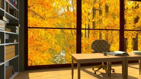 Autumn Studio - Office  - by angelaaa