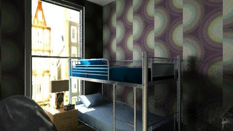 Kensington Teen Room - Retro - Bedroom  - by yourjieee