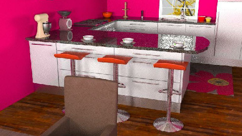 Kitchen/Dining #2 B - Dining Room - by Chanel_Lover