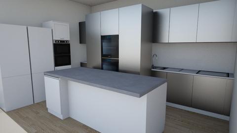 kitchen1 - Modern - Kitchen  - by ovila