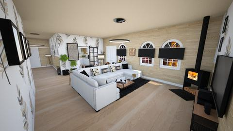 family home 138 - Modern - Living room  - by Stavroula Chatzina