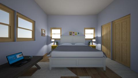pretty bedroom  - Country - Bedroom  - by HorseCrafty012