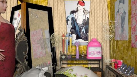 vestidor - Vintage - Bedroom  - by ATELOIV87