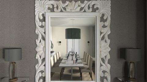 cream dinning 4 wall - by ilia_eva