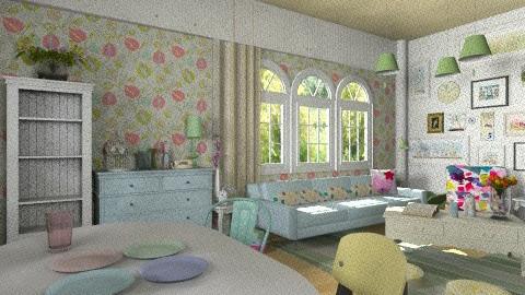 pastelli - Living room - by carlita
