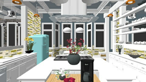 Apartment Kitchens - Classic - Kitchen - by 66861499hala