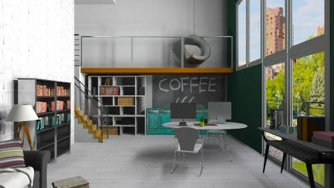 Simple Office  - Modern - Office  - by katarina_petakovi