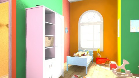 my kiddies bedroom - Modern - Kids room  - by Nhezart Designs