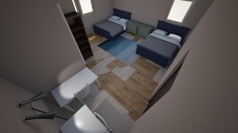me_abbis room - Bedroom  - by andersonmr0221