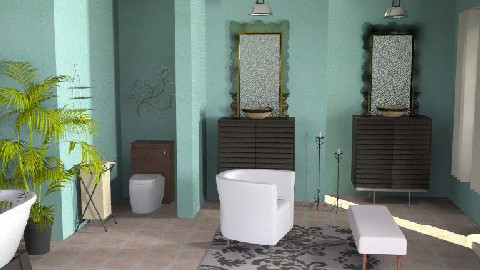 Retreat - Eclectic - Bathroom  - by channing4