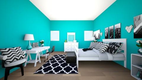 TWEEN NEW YORK CITY - Glamour - Bedroom  - by keelinmargrertobrien