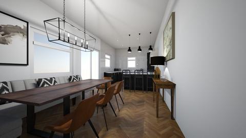 kitchen diner - Kitchen  - by Matthew James Woods