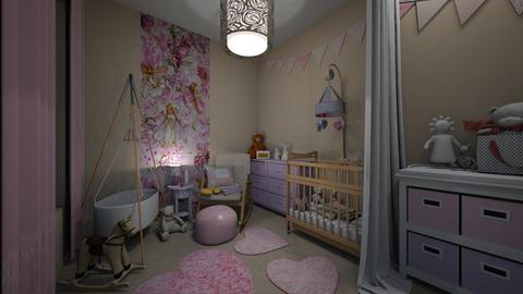 for a newborn fairy - Kids room  - by norcska