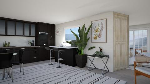 Apatment in the mountains - Modern - Kitchen  - by Meghan_and_Pheebs