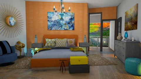 bedrom sunny - Bedroom - by Moonpearl