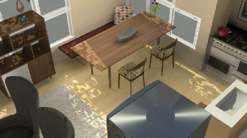 Kitchen and Dining Space - Dining Room  - by michaelgirl