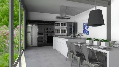Set - Modern - Kitchen  - by Carliam