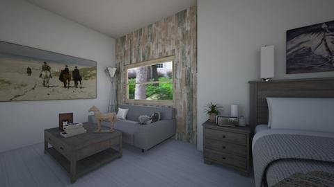 Horse Lover - Country - Bedroom  - by SienaH