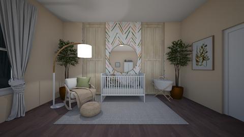 Toddler Room Floorplan - Kids room  - by Destiny Michelle