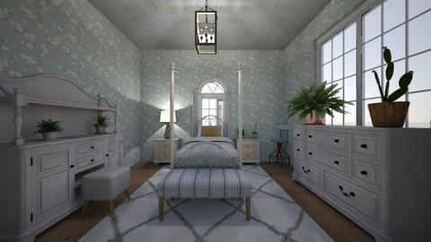 Vintage Girl Bedroom - Kids room  - by 26sevans