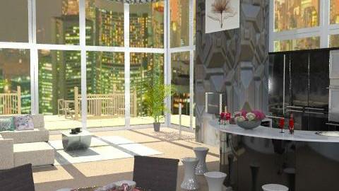 ledlights-experiment - Glamour - Living room  - by leendave