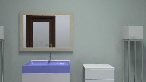 guest bath - Minimal - Bathroom  - by lilyashendorf