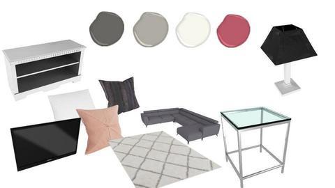 cozy living room - by XenaChico