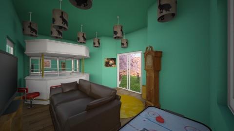 games room - Retro - by Soulight Raindancer