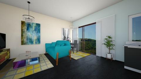 kjw - Living room - by emina27