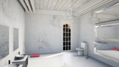 bathroom - Glamour - Bathroom  - by Nourhaan Adel