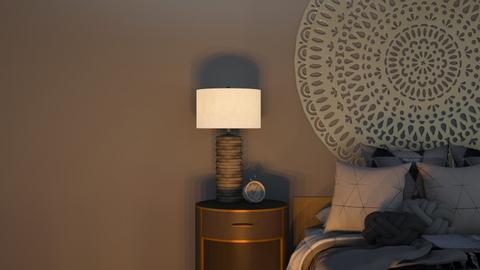 Minimal grey bedroom - Bedroom  - by Anya F