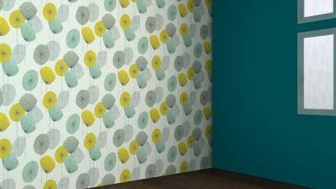 Sarah Cole-Tullett - Retro - Bedroom  - by SarahColeTullett
