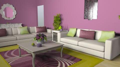 Living room - Glamour - Living room  - by KatiJo