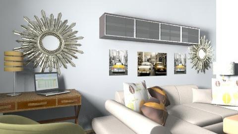 joe render 2 - Retro - Living room  - by babywantsbling