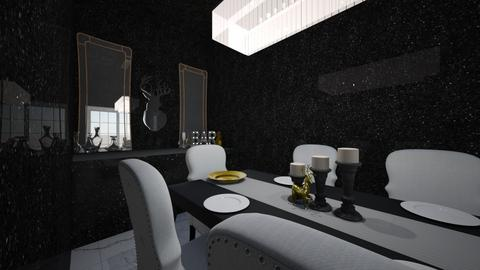 Breakfast at Tiffanys  - Glamour - Dining room - by Stag_Estate
