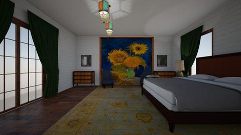 sunflower - Eclectic - Bedroom - by decordiva1