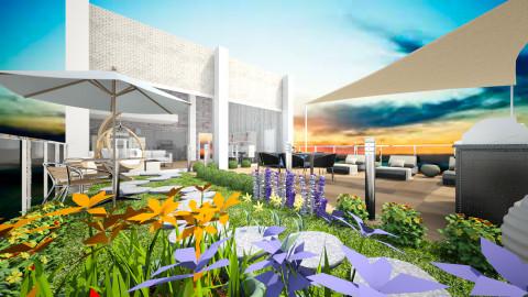 TerraceParadise - Modern - Garden  - by Gre_Taa