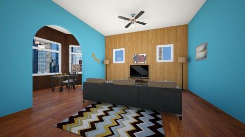 Living Room Plan - Modern - Living room - by Nature Girl