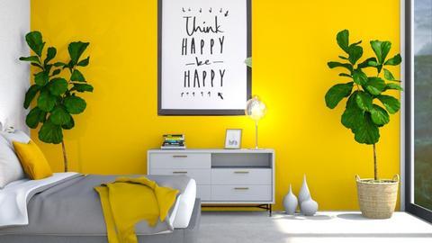 happy - Bedroom  - by Thepanneledroom