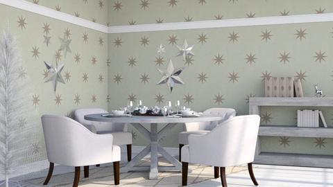 Christmas Stars - Classic - Dining room  - by millerfam