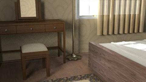 3 - Rustic - Bedroom  - by misspsk