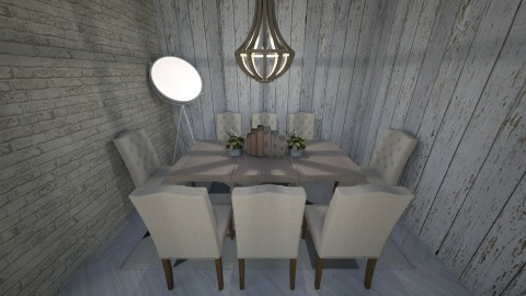 Dining room - by Courts19