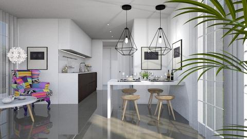 452 - Modern - Kitchen  - by Claudia Correia