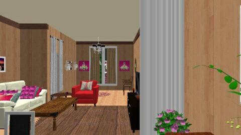 living room - Retro - Living room  - by nurien