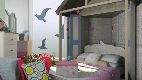 vertya2 - Glamour - Kids room  - by dipselvic